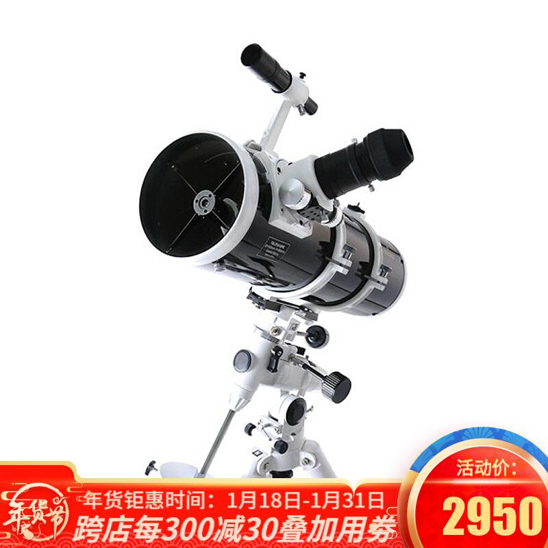 Sky-Watcher信达星达小黑150750EQ3D天文望远镜专业观星反射高倍高清夜视单速铝脚 套餐1:单速铝官方标配版