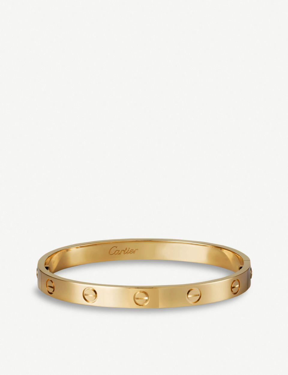 LOVE 18ct yellow-gold bracelet